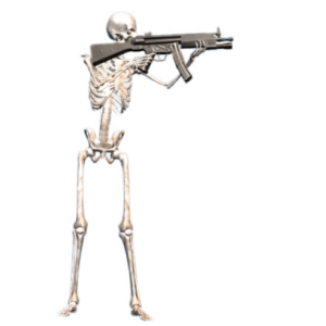 Skeleton emoji halloween messages sticker-0