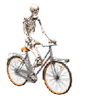 Skeleton emoji halloween messages sticker-9