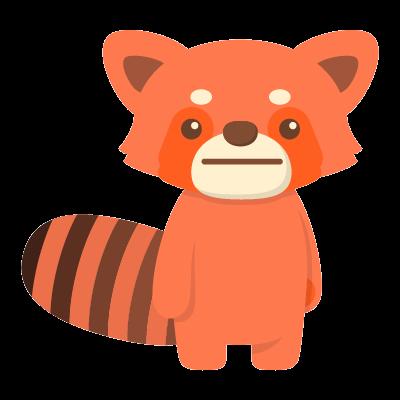Red Pandas messages sticker-3