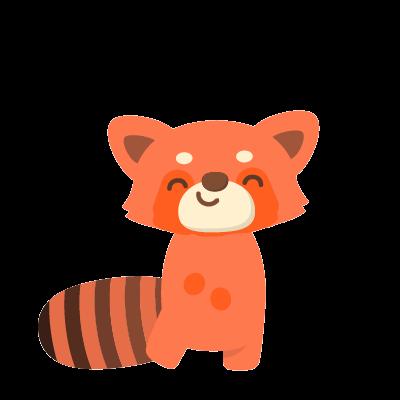 Red Pandas messages sticker-8