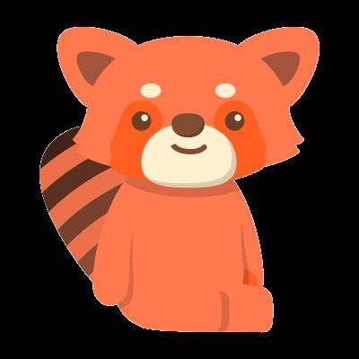 Red Pandas messages sticker-9