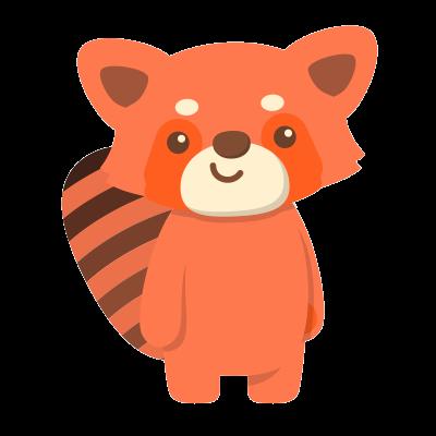 Red Pandas messages sticker-0