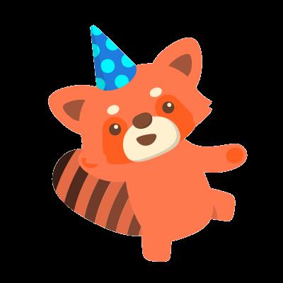 Red Pandas messages sticker-5