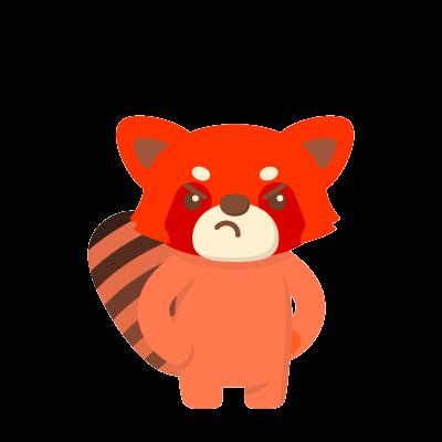 Red Pandas messages sticker-4