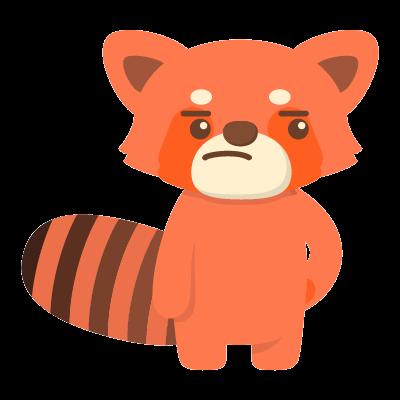 Red Pandas messages sticker-6