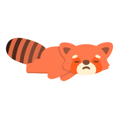Red Pandas messages sticker-10
