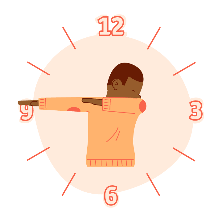 Dab O'Clock messages sticker-8