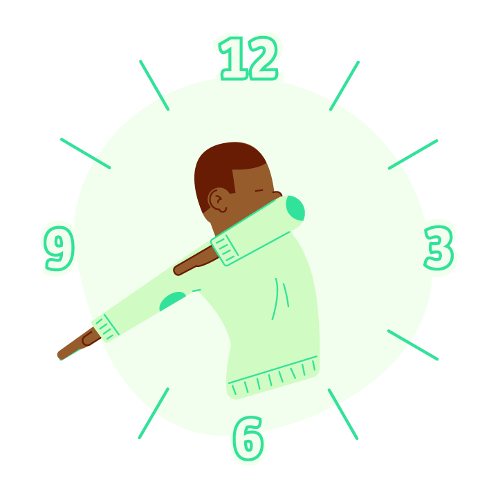 Dab O'Clock messages sticker-7