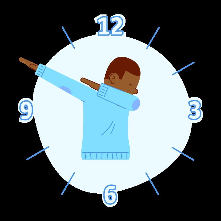 Dab O'Clock messages sticker-9