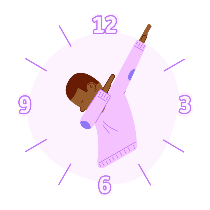 Dab O'Clock messages sticker-0