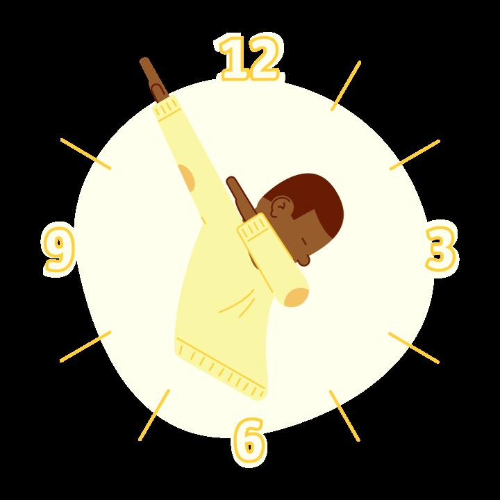 Dab O'Clock messages sticker-10