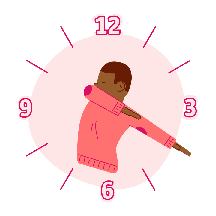 Dab O'Clock messages sticker-3