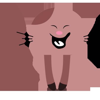 Lucky cat sticker for iMessage messages sticker-0