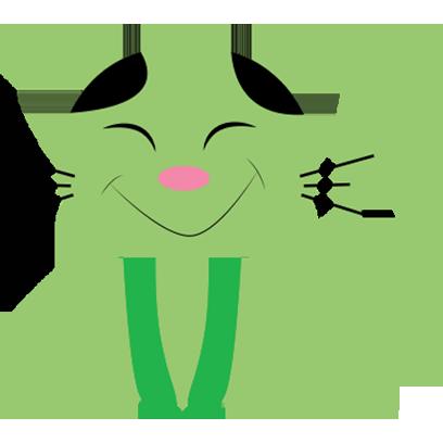 Lucky cat sticker for iMessage messages sticker-6