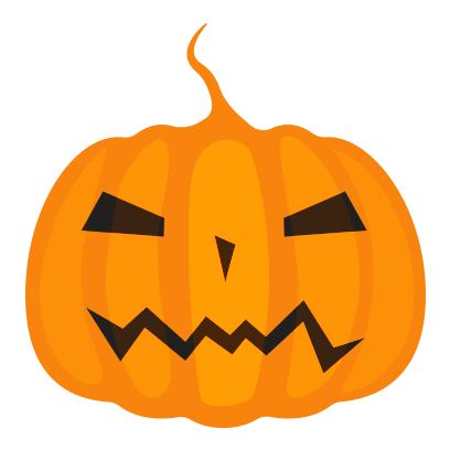 Halloween elements sticker messages sticker-7