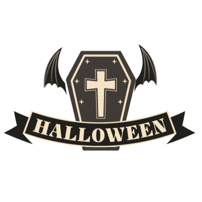 Sticker Halloween banner messages sticker-7