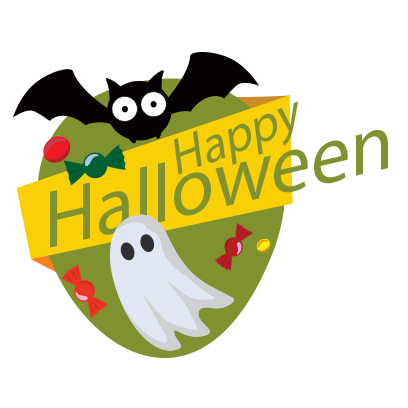 Sticker Halloween banner messages sticker-11