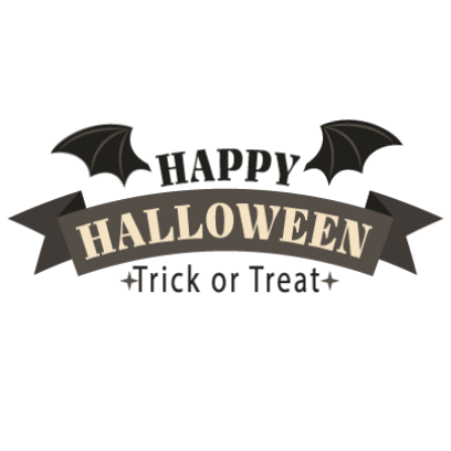 Sticker Halloween banner messages sticker-0