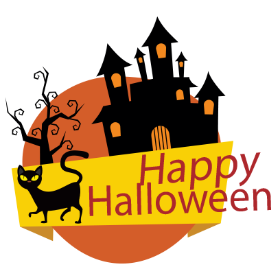 Sticker Halloween banner messages sticker-10