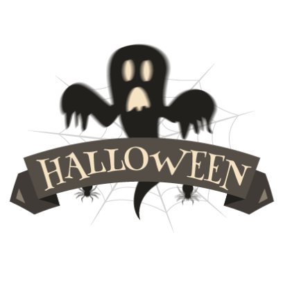 Sticker Halloween banner messages sticker-2