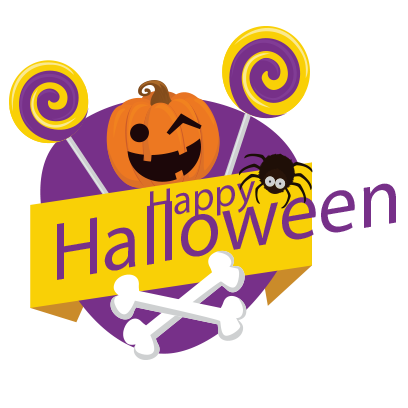 Sticker Halloween banner messages sticker-8