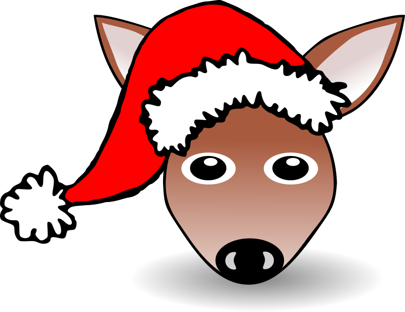 Animals In Santa Hats messages sticker-10