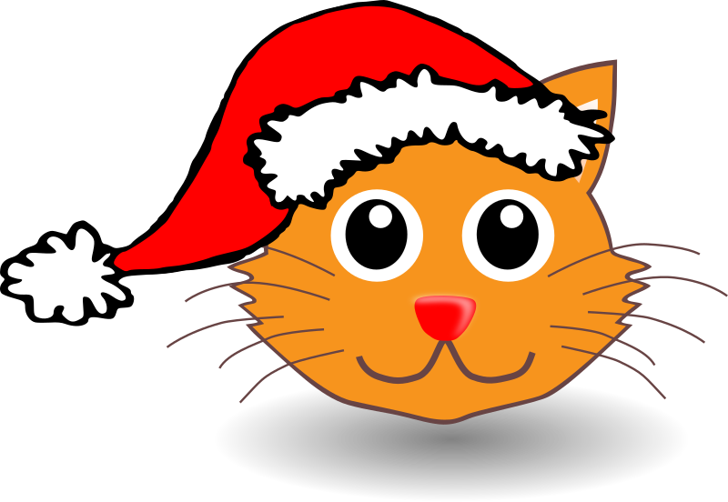 Animals In Santa Hats messages sticker-1