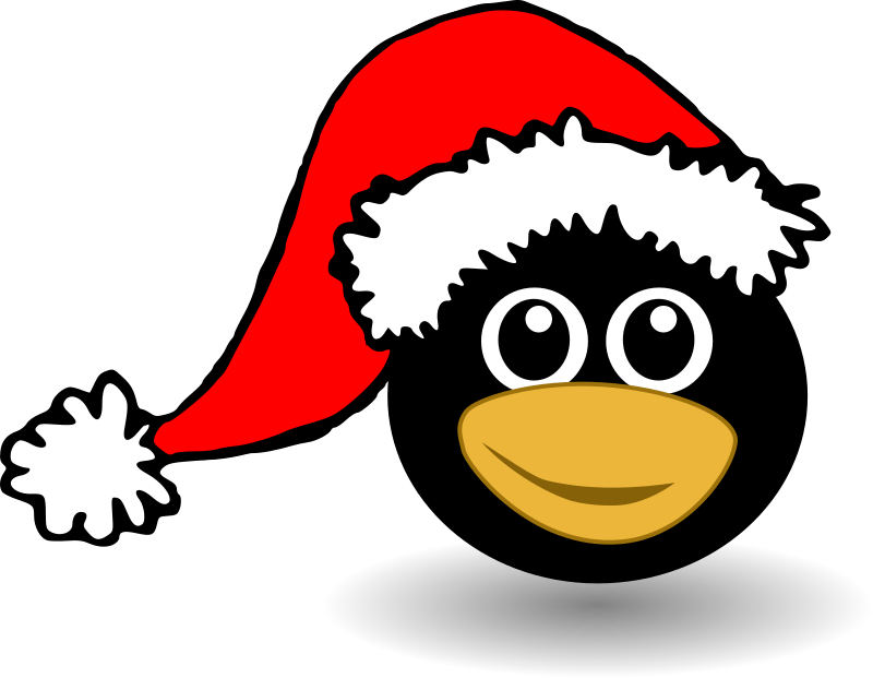 Animals In Santa Hats messages sticker-6