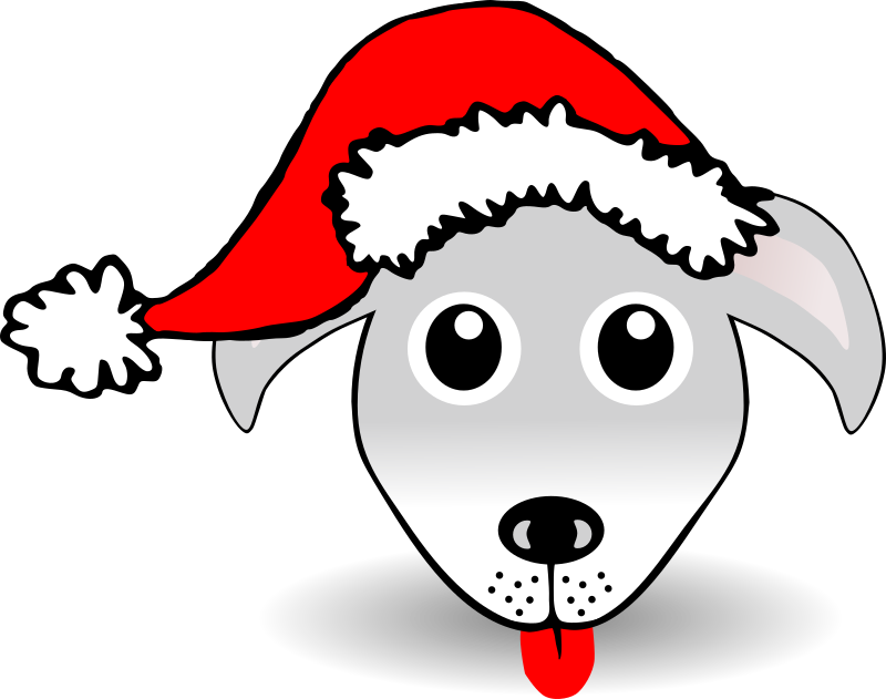 Animals In Santa Hats messages sticker-4