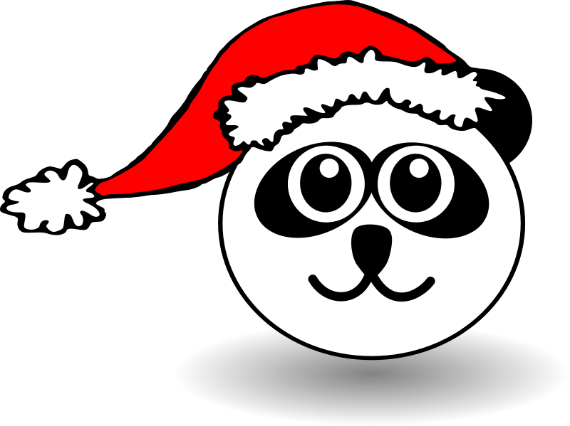 Animals In Santa Hats messages sticker-7