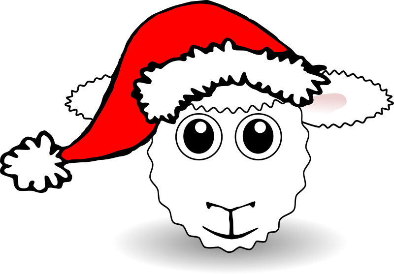 Animals In Santa Hats messages sticker-9