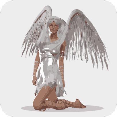 Angels sticker pack messages sticker-0