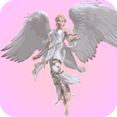 Angels sticker pack messages sticker-1