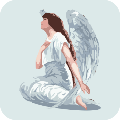 Angels sticker pack messages sticker-10