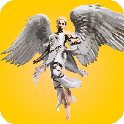 Angels sticker pack messages sticker-7