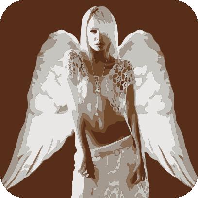Angels sticker pack messages sticker-4