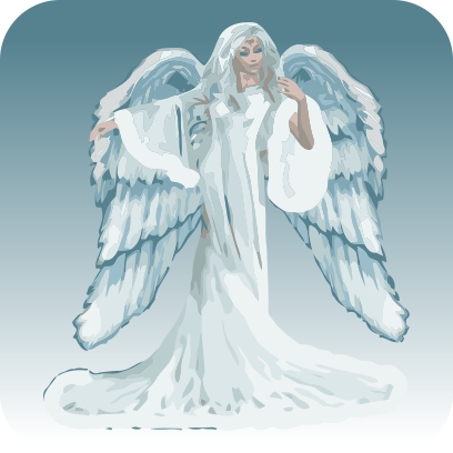 Angels sticker pack messages sticker-11