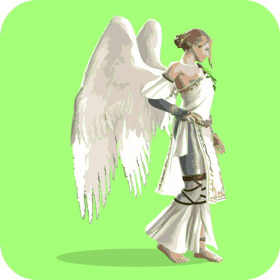 Angels sticker pack messages sticker-9