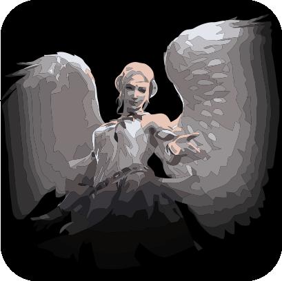 Angels sticker pack messages sticker-3