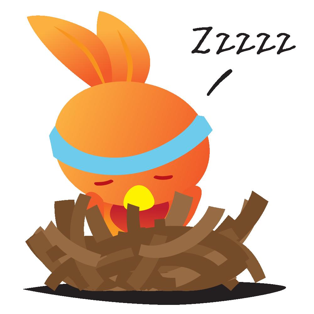 Orange Robin - emoji stickers messages sticker-4