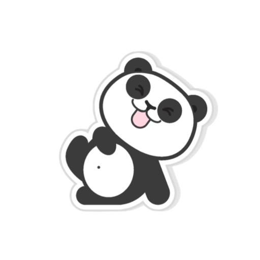 Pandamoji - stickers for message messages sticker-9