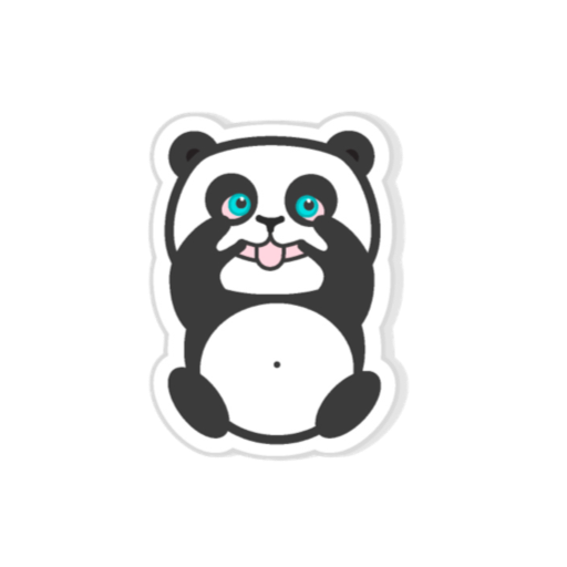 Pandamoji - stickers for message messages sticker-3