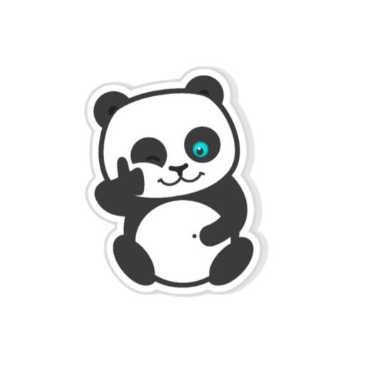 Pandamoji - stickers for message messages sticker-2