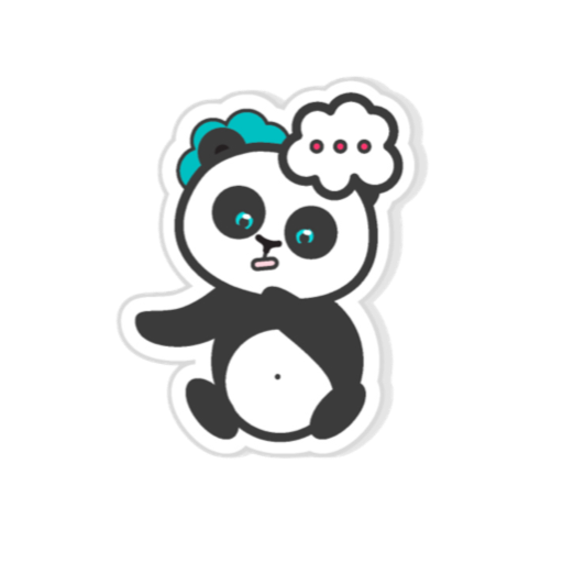 Pandamoji - stickers for message messages sticker-7