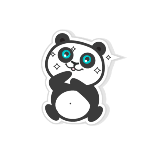 Pandamoji - stickers for message messages sticker-5