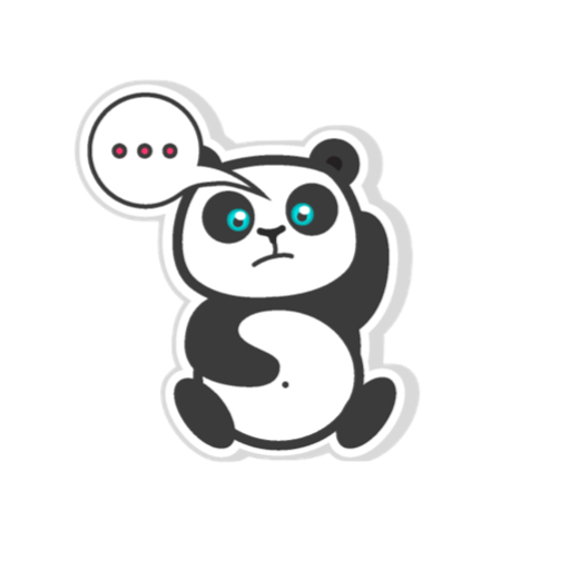 Pandamoji - stickers for message messages sticker-11