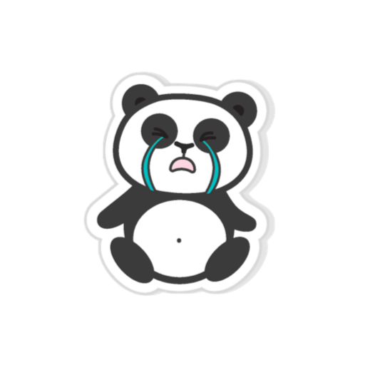 Pandamoji - stickers for message messages sticker-4