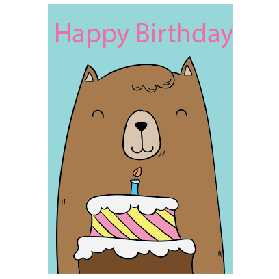 Birthday Greeting Stickers messages sticker-6