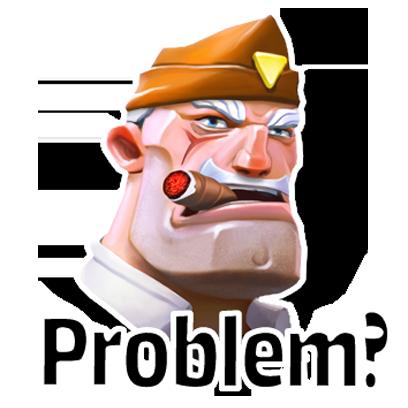 Warhands: Epic clash PvP game messages sticker-6