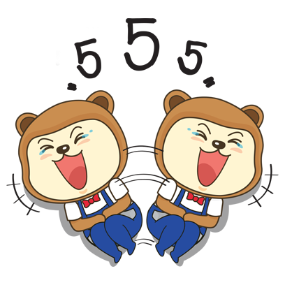 N'Song & N'See, Happy Bears messages sticker-8